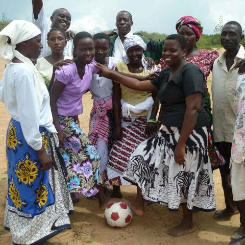 International Inspiration programme with Moving The Goalposts in Kenya for financial literacy